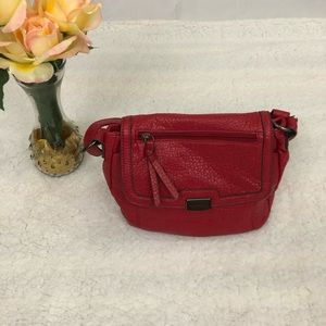 Franco Sarto Red Crossbody Bag